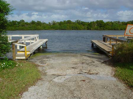 Boat ramps for Indian mound fish camp