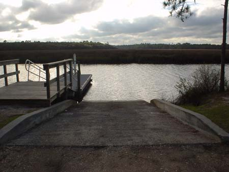 Boat ramps for Devils elbow fishing resort