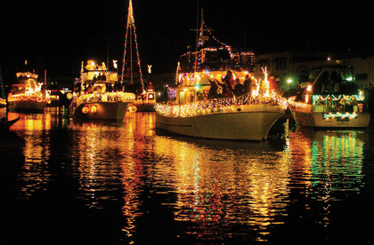 Clearwater Christmas Boat Parade 2019 Florida by Water